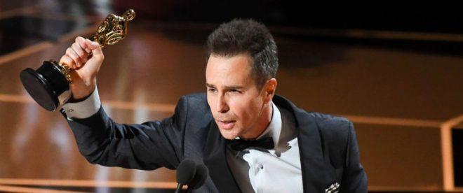 Sam Rockwell Oscars