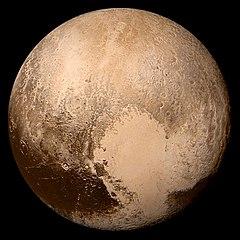 Weight on Pluto