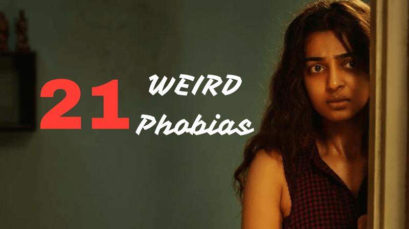weird strange bizarre phobias