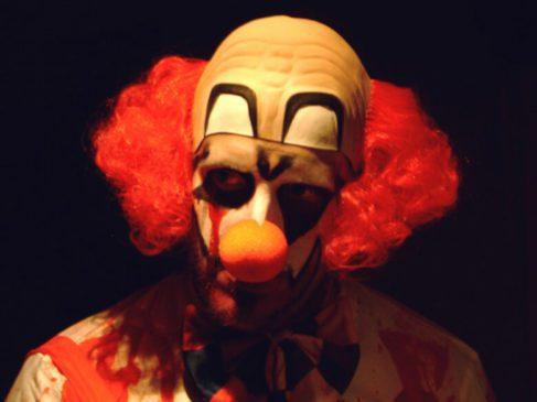 Scary clown phobia weird strange unusual