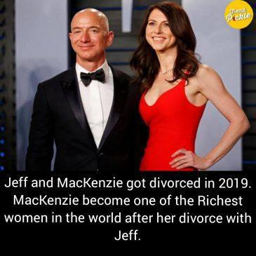 MacKenzie and jeff bezos divorce