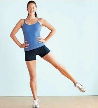 Standing leg raise
