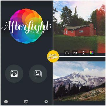 After light photo editing app